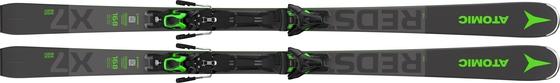 Горные лыжи Atomic Redster X7 WB green + крепления F 12 GW