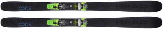 Горные лыжи Head Kore 93 + крепления AAAttack2 11