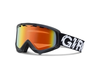 Маска Giro Station Medium  Black Static/ Persimmon Blaze 50-60
