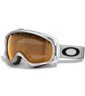 Маска Oakley Crowbar Snow Matte White / H.I. Yellow