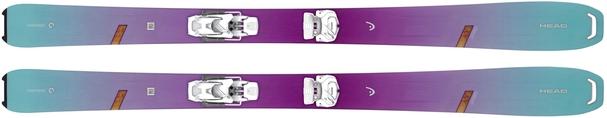 Горные лыжи Head Great Joy + AAAttack2 12 GW