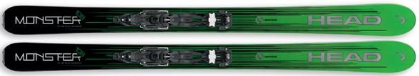 Горные лыжи Head Monster 108 + крепления Attack2 13