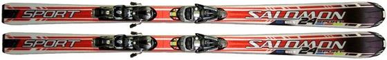 Горные лыжи без креплений Salomon 24 Sport