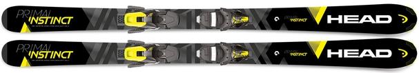 Горные лыжи Head Primal Instinct + крепления SLR 10