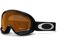 Маска Oakley A-Frame 2.0 Jet Black / Persimmon