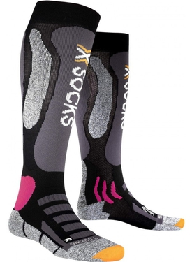 Носки X-Socks Ski Carving Silver Women