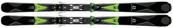 Горные лыжи Salomon X-Drive 8.0 FS + крепления XT 12