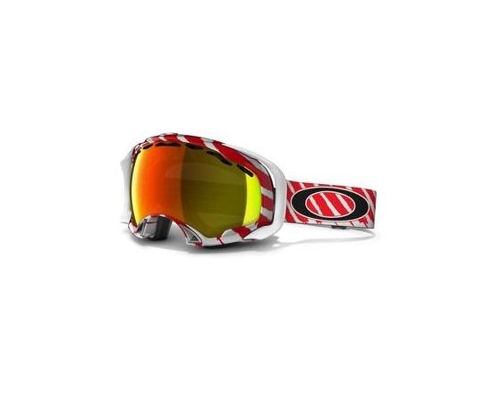 Маска Oakley Splice Shaun White sig. Highlight Red / Fire Polarized