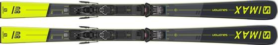 Горные лыжи Salomon S/Max 8 + крепления M10 GW L80