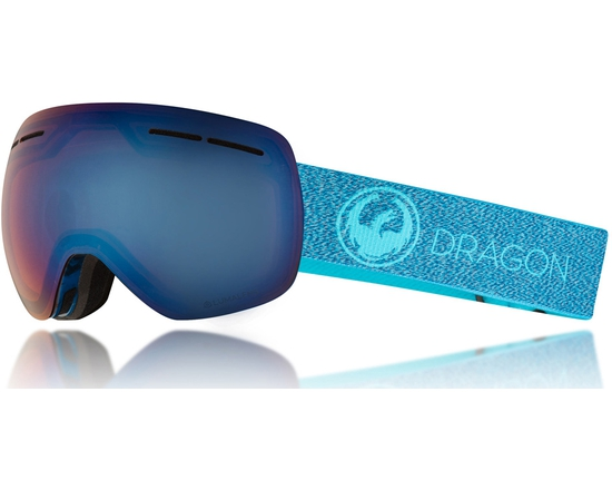 Маска Dragon X1S Mill / Lumalens Blue Ion + Lumalens Amber