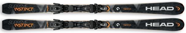 Горные лыжи Head Supreme Instinct Ti + крепления PR 11