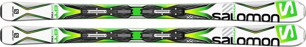 Горные лыжи Salomon X-Drive 8.0 BT + крепления Lithium 10