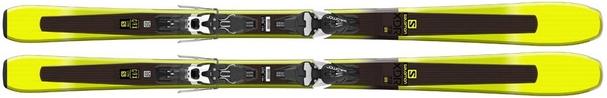 Горные лыжи Salomon XDR 79 CFR + Mercury 11 L