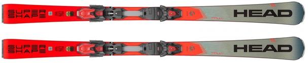 Горные лыжи Head Supershape i.Rally + крепления PRD 14