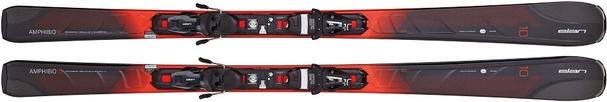 Горные лыжи Elan Amphibio 10 Fusion + крепления EL 10.0