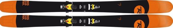 Горные лыжи Rossignol Super 7 + Axial3 120 B120