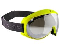 Маска Indigo Voggle Neon Yellow / Mirror Chrome FC3