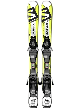 Горные лыжи Salomon X-Max Jr XS + крепления EZY5