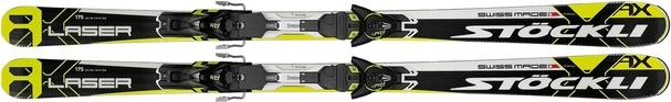 Горные лыжи Stockli Laser AX + крепления M AM12 C90