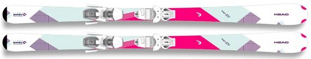 Горные лыжи Head Easy Joy + крепления Joy 9.0 AC SLR