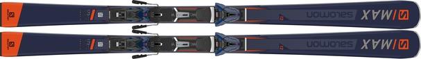 Горные лыжи Salomon S/Max 12 + крепления Z 12 Walk