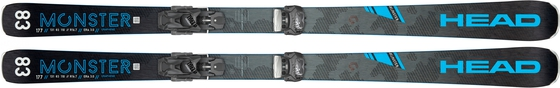 Горные лыжи Head Monster 83 Ti + крепления Attack2 13