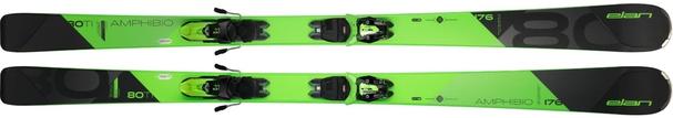 Горные лыжи Elan Amphibio 80 TI PS + крепления ELX 11.0