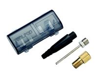 Комплект игл в кейсе BBB Valve adapter kit