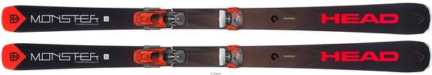 Горные лыжи Head Monster 88 Ti + крепления Attack2 13