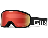 Маска Giro Cruz Black Wordmark / Amber Scarlet 40