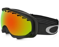 Маска Oakley Crowbar Jet Black / Fire Iridium