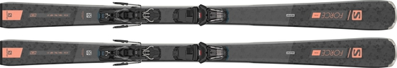 Горные лыжи Salomon S/Force W 5 + крепления M10 GW