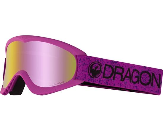 Маска Dragon DXS Violet / Lumalens® Pink Ionized