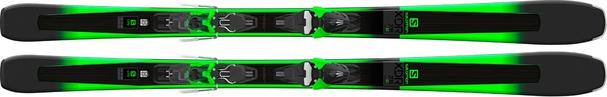Горные лыжи Salomon XDR 78 ST + крепления Mercury 11