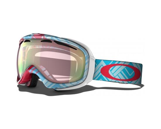 Маска Oakley Elevate Braided Blue / VR50 Pink Iridium