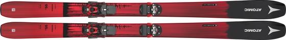 Горные лыжи Atomic Maverick 95 TI + крепления Warden 13 MNC
