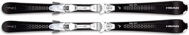 Горные лыжи Head Easy Joy + крепления LRX 9.0