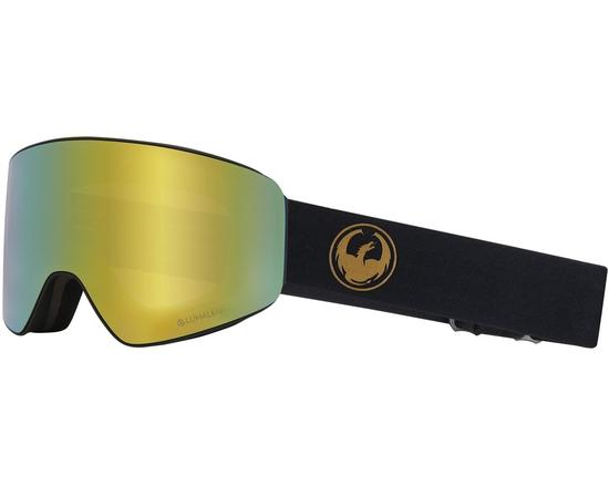 Маска Dragon PXV Gold / Lumalens® Gold Ionized + Lumalens® Amber