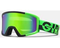 Маска Giro Blok Bright Green 50/50 /Loden Green
