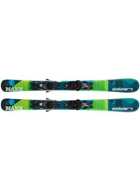 Горные лыжи Elan Maxx QS 130-150 + крепления EL 7.5 Shift