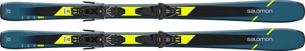 Горные лыжи Salomon XDR 76 ST C + крепления L 10 GW