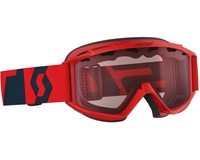 Детская маска Scott Hook Up Jr Fluo Red/Eclipse Blue / Amplifier