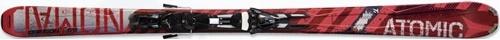 Горные лыжи Atomic Crimson Ti + крепления XTO 14 Sport 185