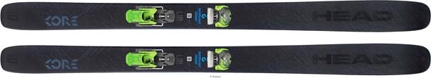 Горные лыжи Head Kore 117 + крепления Attack2 13 GW