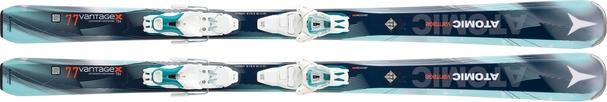 Горные лыжи Atomic Vantage X 77 C W + крепления Lithium 10