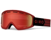 Маска Giro Index Dark Red Sierra / Amber Scarlet 40