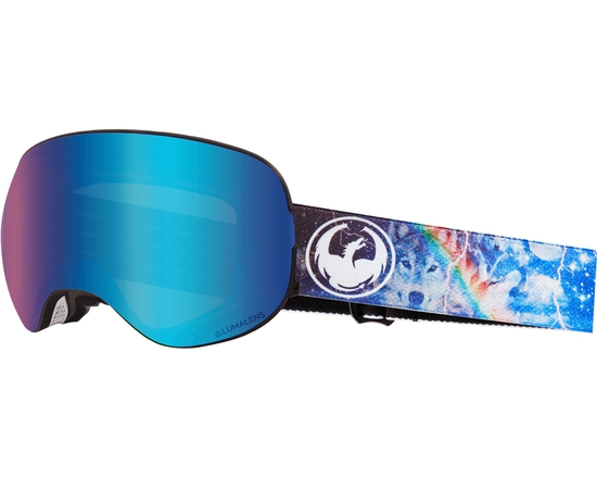 Маска Dragon X2 Galaxy / Lumalens® Blue Ionized + Lumalens® Amber