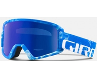 Маска Giro Semi Blue Rocksteady / Grey Cobalt + Yellow