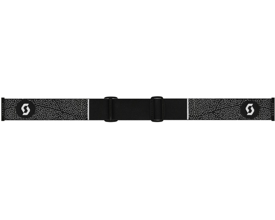 Маска Scott Lura Black-White / Amplifier Silver Chrome + Illuminator