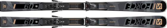 Горные лыжи Salomon S/Force 9 + крепления Z12 GW